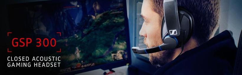 Sennheiser® GSP 300™ Gaming Headset for PC, Mac, PS4 & Multi-Platform