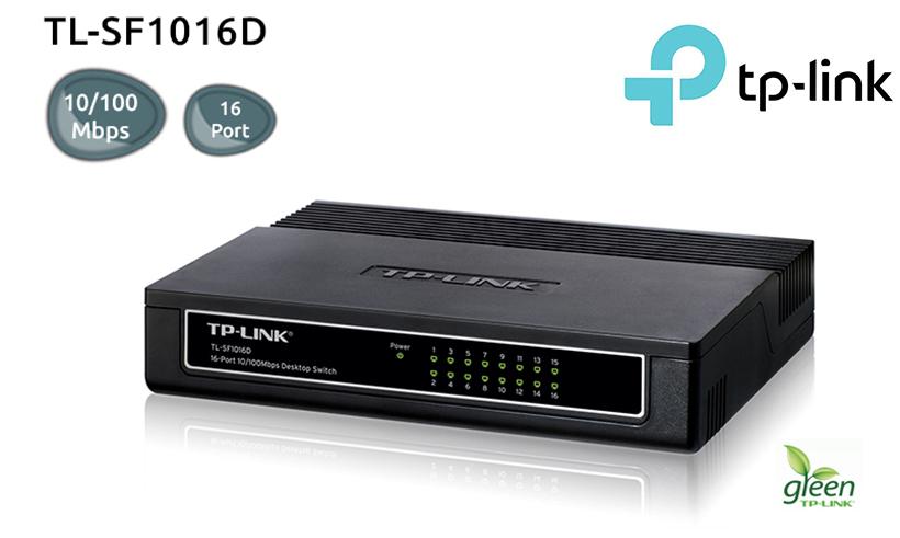 """Image result for Desktop Switch - TL-SF1016D - 16-Port - 10/100Mbps - Black"""""""