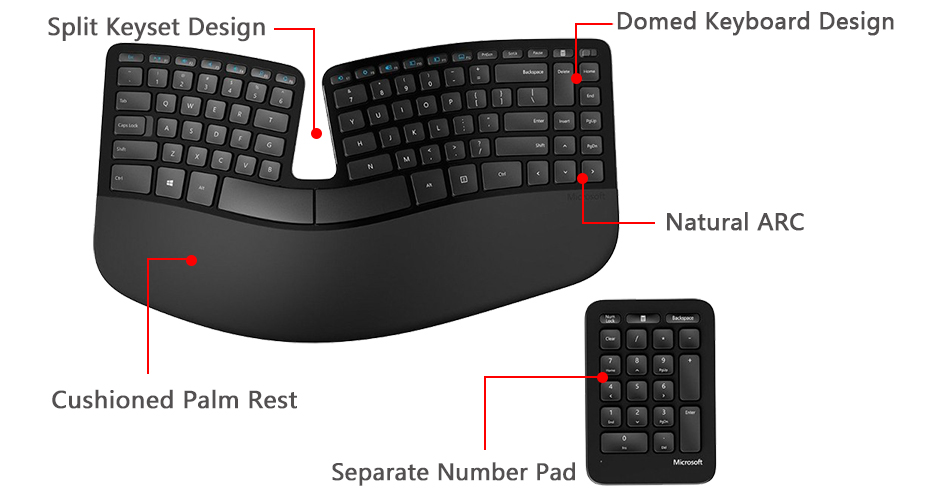79ab4a40d1e It's the ideal keyboard to help keep you comfortable and productive all day  long.