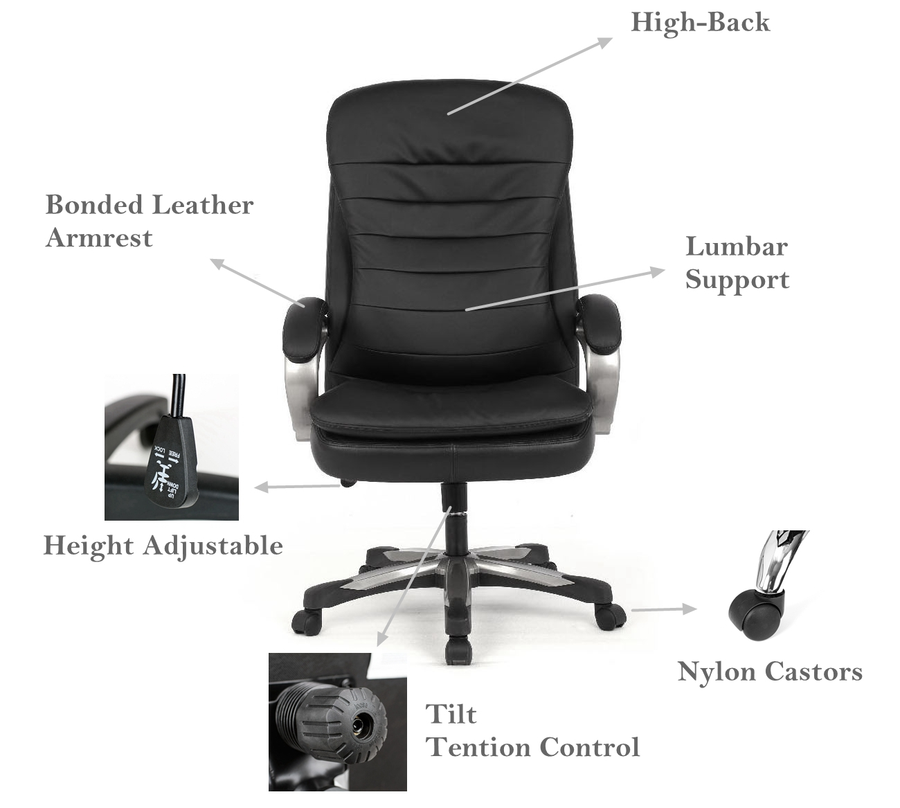Super Big Tall Double Cushion Bonded Leather Office Chair Capacity Support 400 Lb Black Moustache Download Free Architecture Designs Viewormadebymaigaardcom