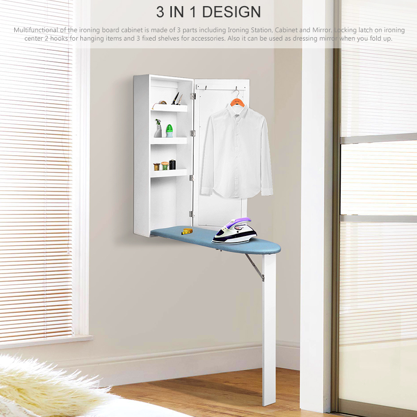 wall mounted ironing board storage cabinet foldable with mirror rh living ca ironing board with storage cabinet uae ironing board with storage cabinet singapore