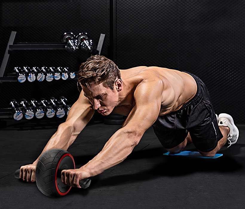 Abdominal wheel roller for core workout ab workout equipment for