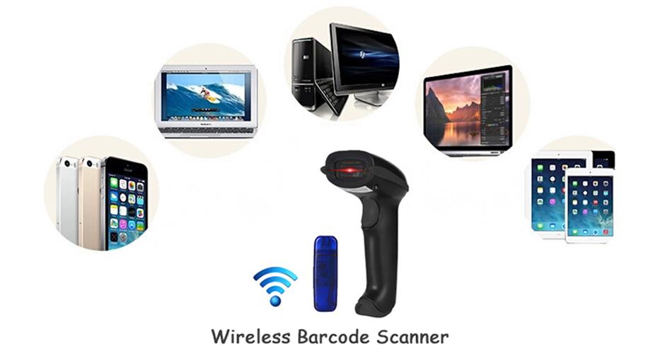 YHD-5100 2 4G Handheld Wireless Barcode Scanner