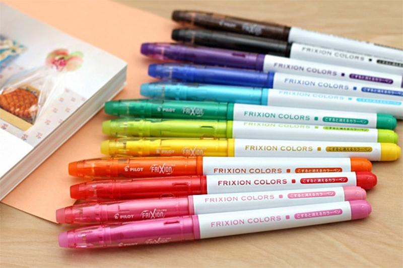 Pilot Frixion Erasable Pen Colouring Markers Pkg 12 181362