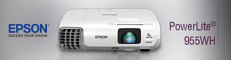 Epson® PowerLite 955WH WXGA 3LCD Projector V11H683020
