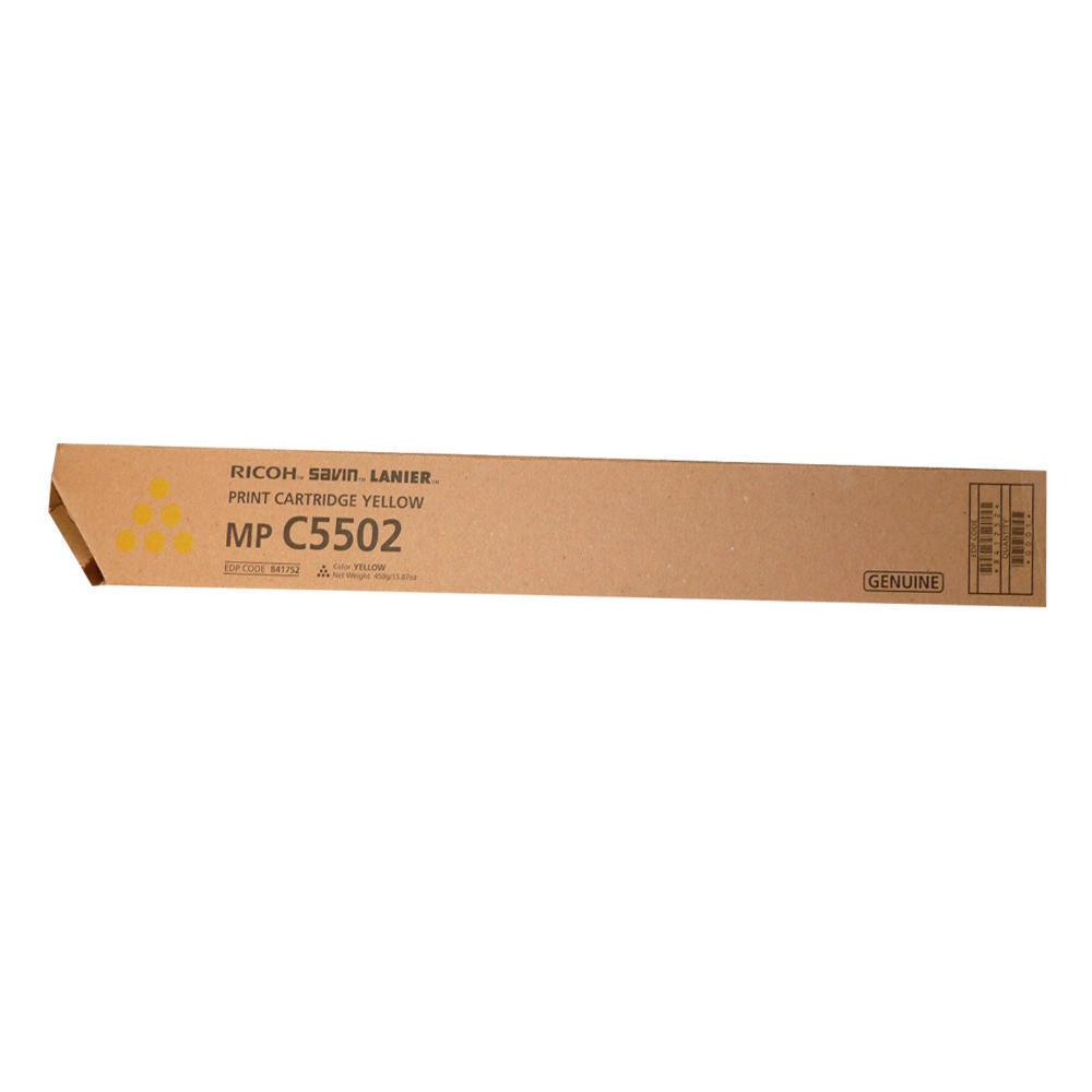 Ricoh Savin Lanier MP C5502 Yellow Print Cartridge 841680