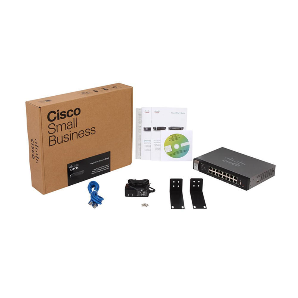 Cisco RV325 Small Business Gigabit Dual WAN VPN Router