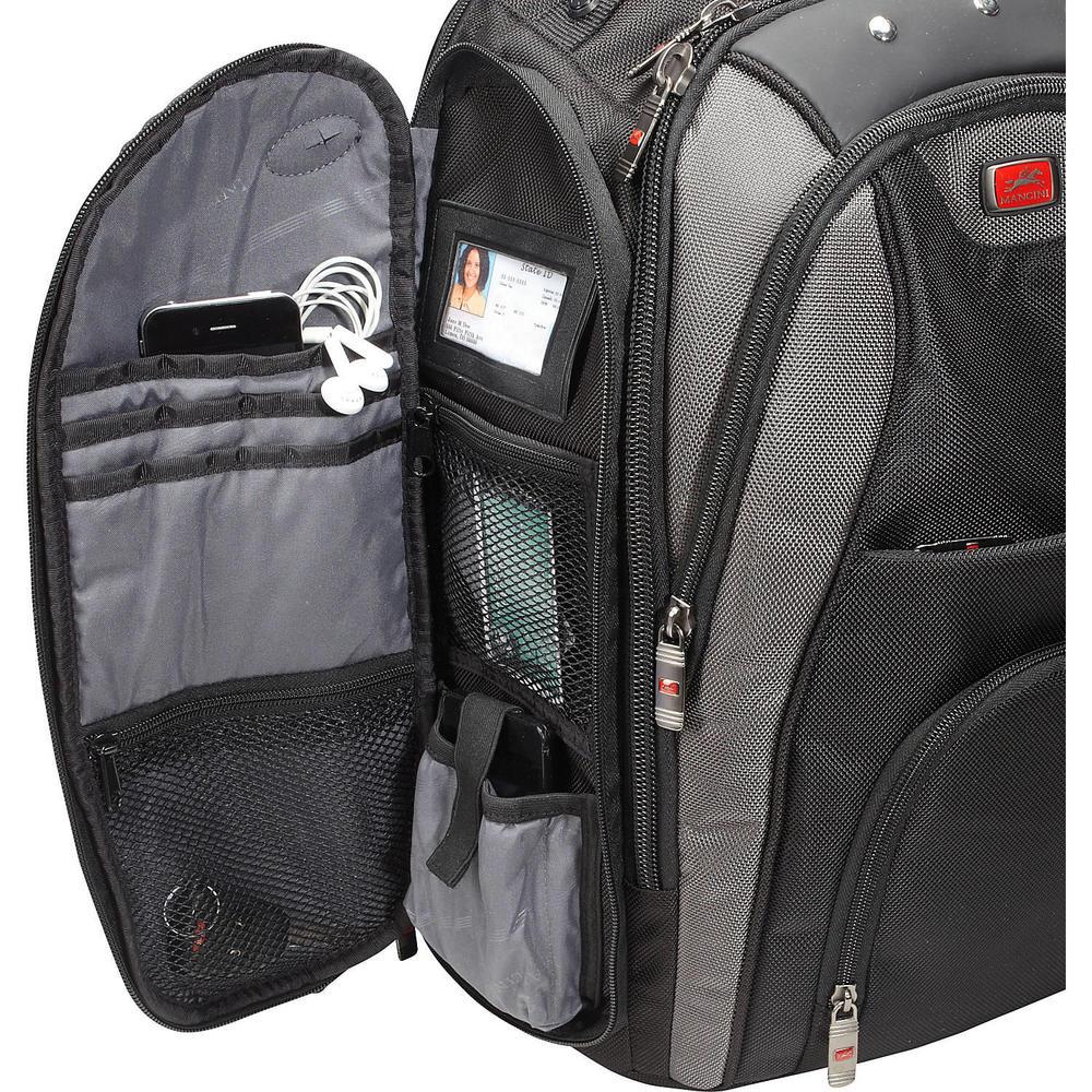e5e7976f8e Mancini® Biztech® Backpack for Laptop and Tablet