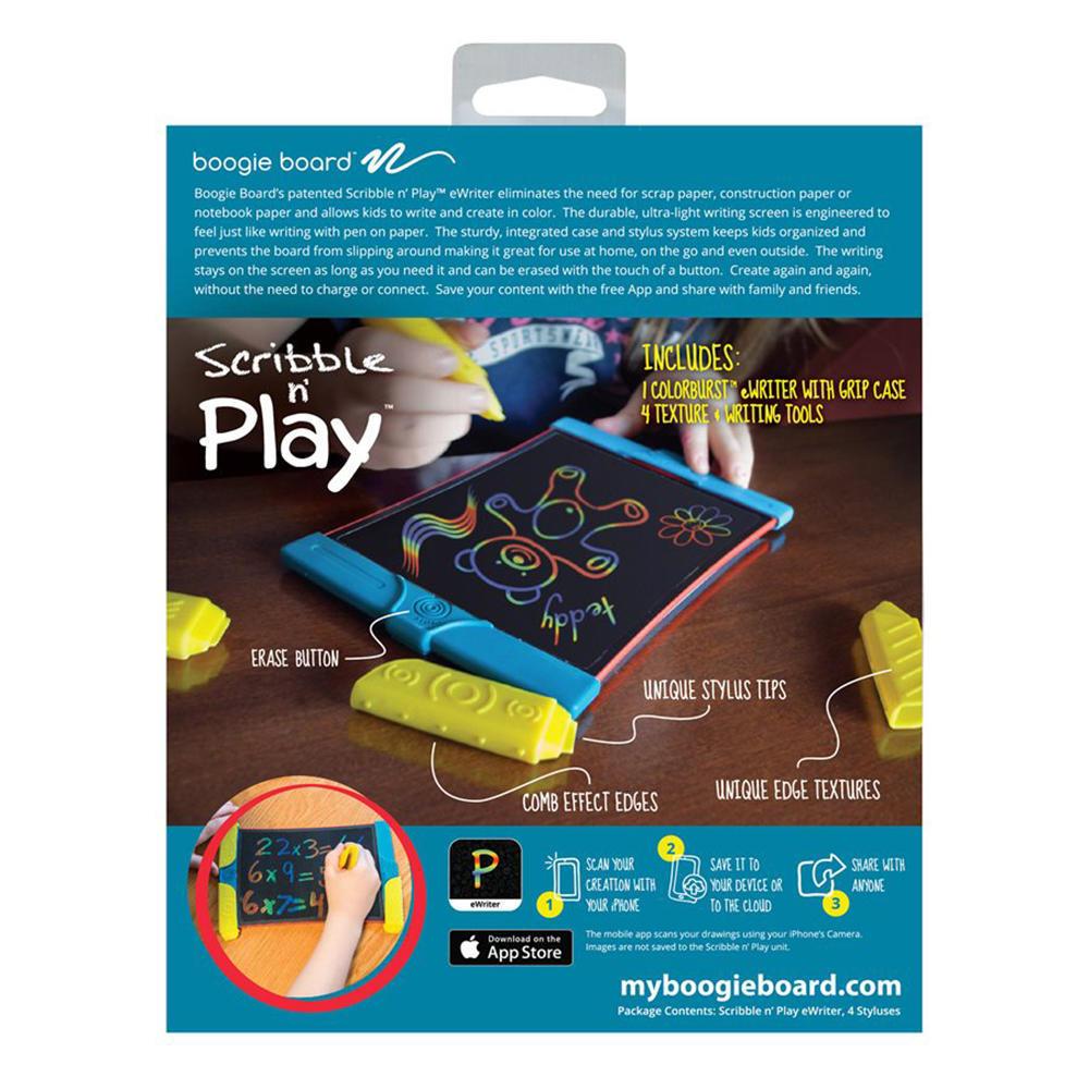 Boogie Board® Scribble & Play LCD Writer - Trilingual