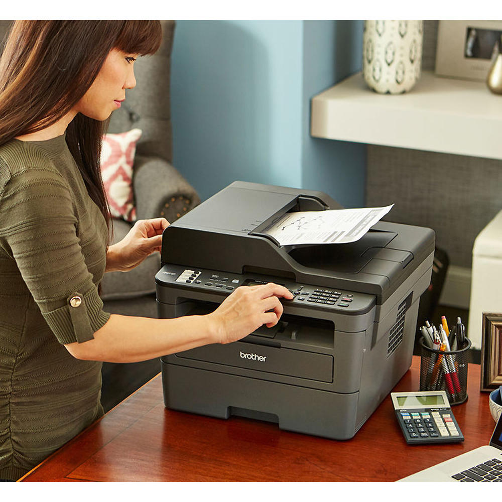 Brother MFC-L2710DW Monochrome Laser All-in-One Printer