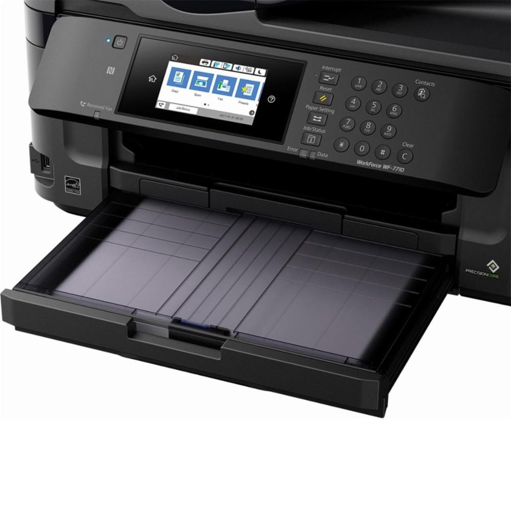 Epson WorkForce WF-7710 Wide-format All-in-One Inkjet Printer (C11CG36201)