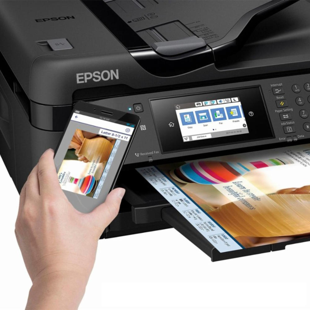 Epson WorkForce WF-7710 Wide-format All-in-One Inkjet Printer (C11CG36201)