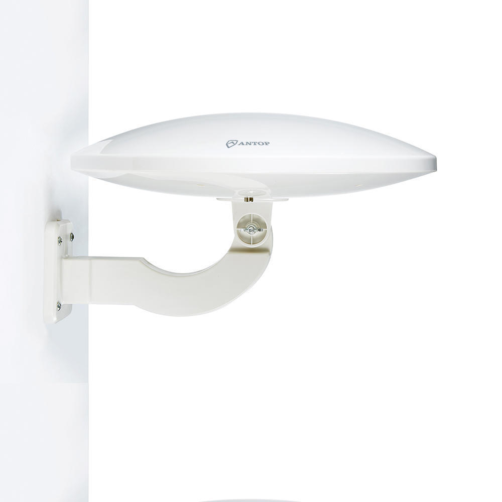 UFO Smartpass Amplified Outdoor/Attic/RV HDTV Antenna with Built-in 4G LTE  Filter - Antop®