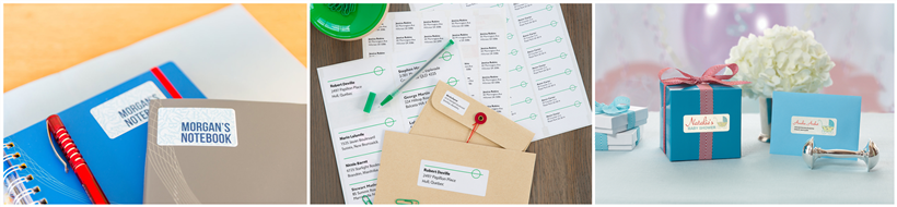 Avery® White Mailing Address Labels for Copiers, White - 2-13/16 x 1-1/2