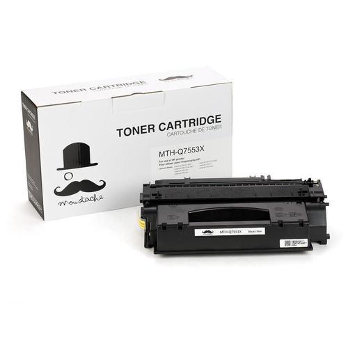 10 PK Q7553X 53X High Yield Toner Cartridge HP LaserJet P2015x P2015dn M2727NFS