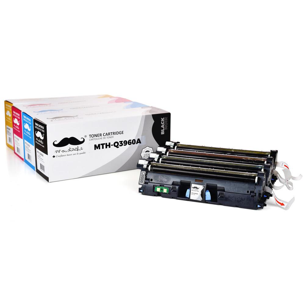 4P 1500 2500 2550 2820 2840 set toner cartridges Q3960A Q3961A Q3962A Q3963A