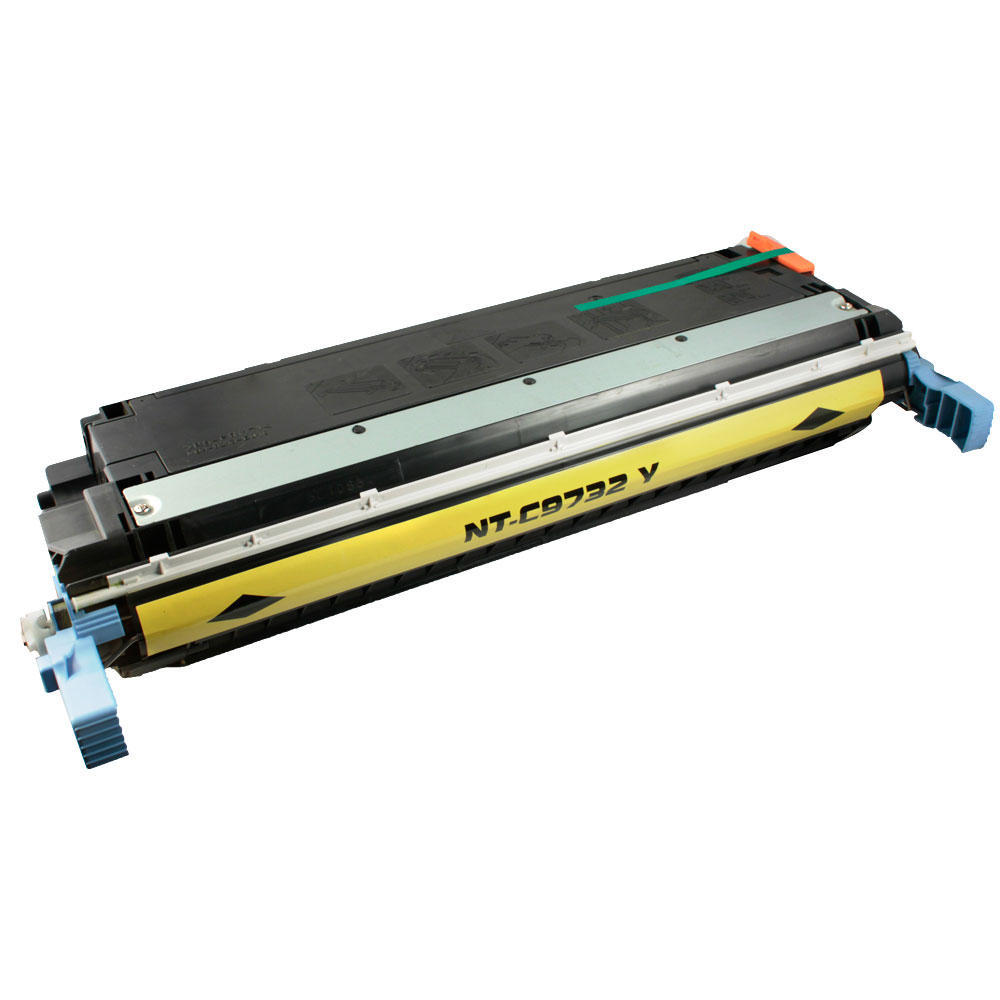Compatible HP 645A C9732A Yellow Toner Cartridge for 5500 5550 Color LaserJets