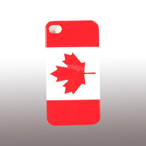 6559e1b90bb Canada Flag Hard Plastic Cover for iPhone 4
