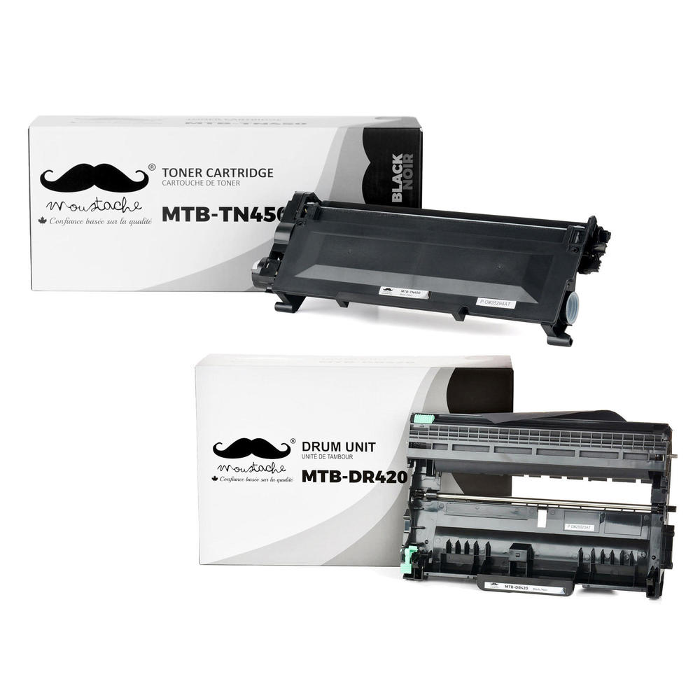 Toner Cartridge Drum Unit Combo for Brother TN450 DR420 DCP-7060D 7065DN HL-2130