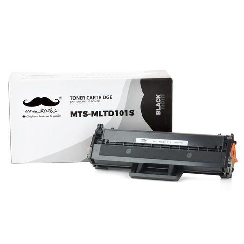 Samsung MLT-D101S Compatible Black Toner Cartridge - Moustache® - 1/Pack
