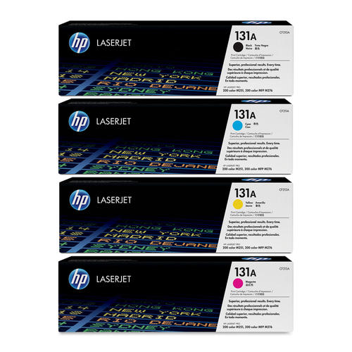 HP 131A Original Toner Cartridge Combo BK/C/M/Y