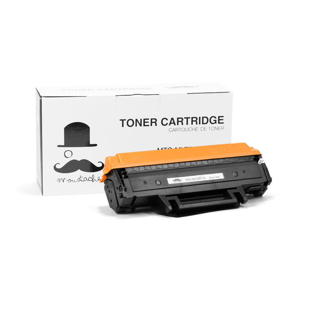 Samsung Mlt D111s Compatible Black Toner Cartridge Moustache 1 Pack