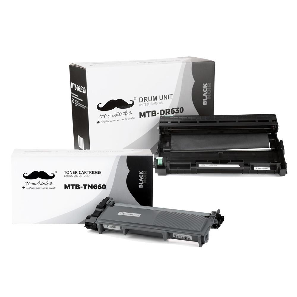US STOCK 6PK DR630 Drum Unit For Brother TN-660 HL-L2300D MFC-L2740DW Printer