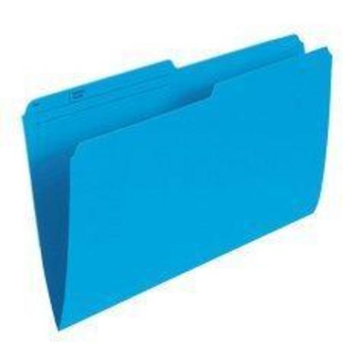 Pendaflex® Recycled Coloured Reversible File Folders, 100 folders per box -  Blue, Legal 486043
