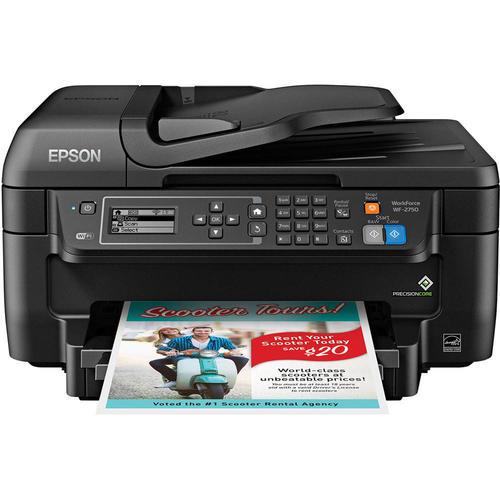 Epson Workforce WF-2750 All-in-One Color Inkjet Printer (C11CF76201)
