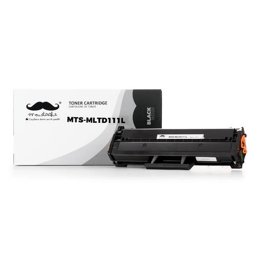 Samsung Mlt D111l Compatible Black Toner Cartridge Moustache 1 Pack