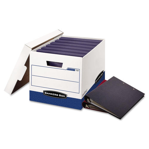 Bankers Box® Binderbox™ Letter/Legal Size Heavy-Duty Storage Box, 12/Pack  (0073301)