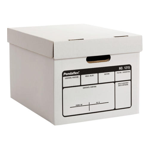 Pendaflex® Unibox Transfer File Letter/Legal Size Storage Box, 10/Pack  (1215)