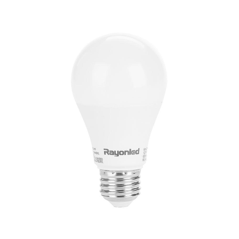 3000K Warm White 800 Lumens Indoor Outdoor 22 Year Light Bulb NEW 60W 1 LED 9W