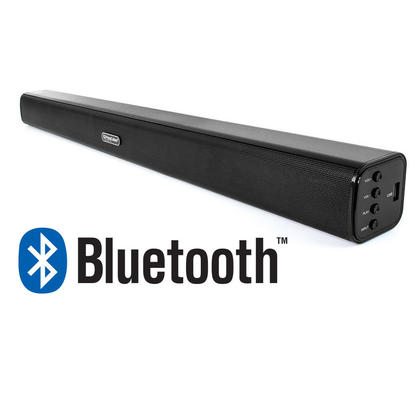stereo sound bar bluetooth 2 0 wired and wireless speaker 30 inches -  primecables�