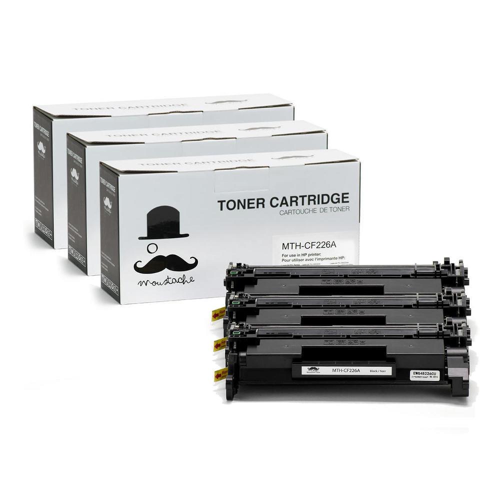 Black Pack of 1 HP CF226A 26A Original LaserJet Toner Cartridge