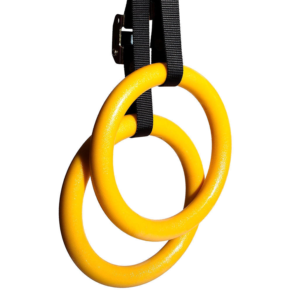 Gymnastic Rings, Fitness Rings w/ Adjustable Buckles Straps PHAT™