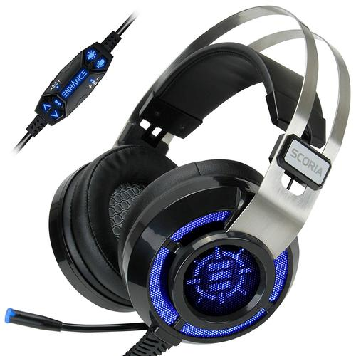 Accessory Power® Enhance Scoria Virtual 7 1 Vibration Gaming Headset
