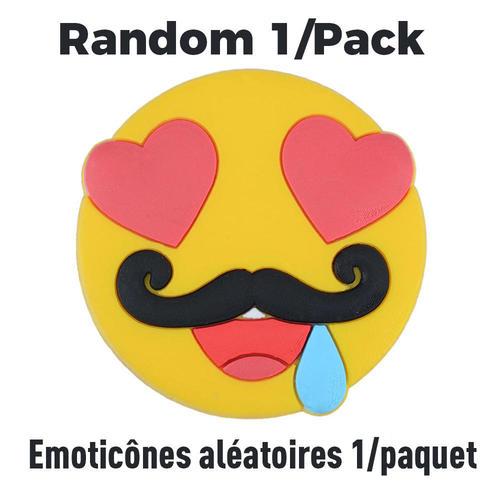 Autocollant De Magnet De Refrigerateur D Emoticone 1 Paquet Emoticones Aleatoires Moustache