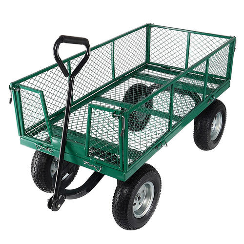Medium plus ced79 livingbasics gw cth 15 all patio garden gorilla cart with removable sides and 13 inch tires and 440 pound capacity