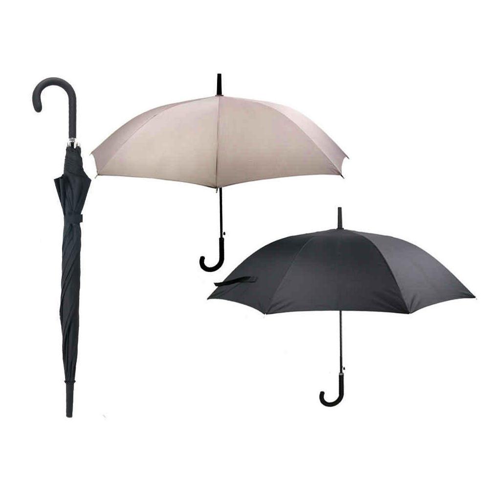 0a8c9bcba Automatic Open Umbrella Windproof Rain Auto Rubber Coated Handle, 1  Randomized Color Per Pack at Living Canada