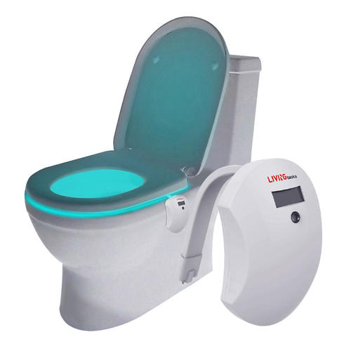 Veilleuse de toilette de LED, changement de couleur 7 activé pour la salle  de bains - LIVINGbasics™