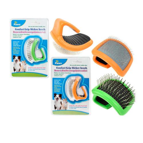 Dog & Cat Professional Flexible Slicker Brush for grooming, 1 Randomized  Style Per Pack