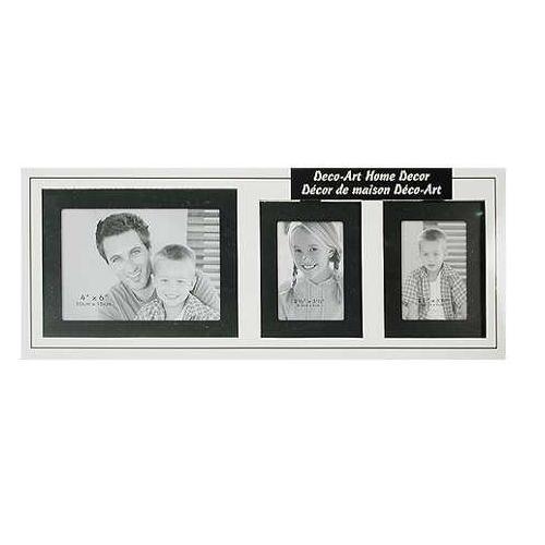 Decorative Metal Photo Frame Home Decor Gift Set 3 Pack 2 2 5 X