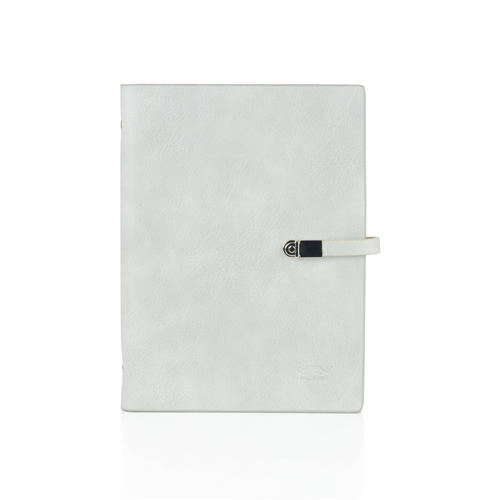 Color PU Loose-Leaf Notebook with Buckle