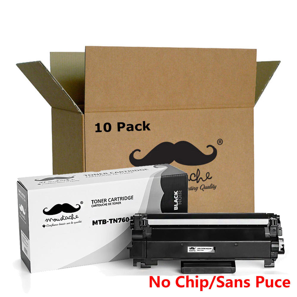 Office Equipment Genuine Oem Brother Tn-760 Tn760 High Yield Black Toner Cartridge 012502649274 Toner Cartridges