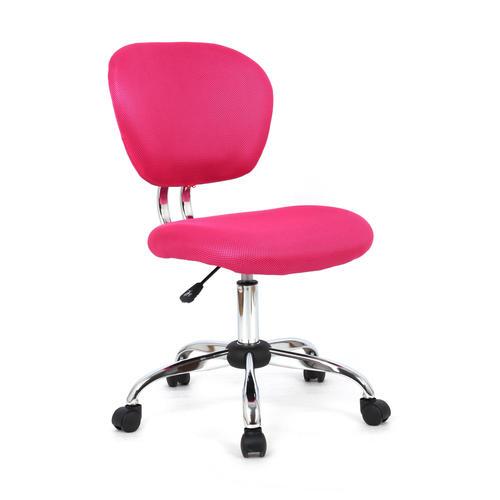 Astonishing Office Desk Task Chair Fabric 3 Colours Moustache Pink Machost Co Dining Chair Design Ideas Machostcouk