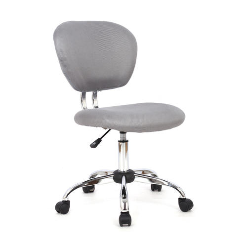 Office Chairs.Office Desk Task Chair Fabric 3 Colours Moustache Grey