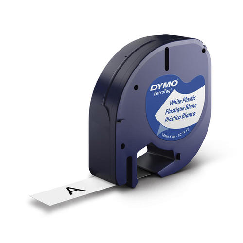 DYMO 91331 LetraTag Label Tape, 12mm (1/2