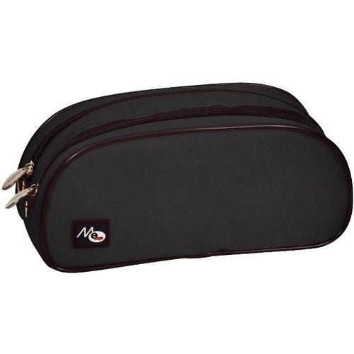 6bf9ffe3140d51 DBL Zipper Nylon Pencil Case, Black