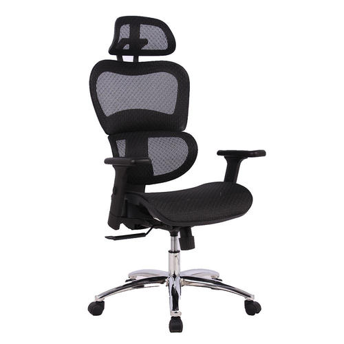 low priced f0e82 13e7c Ergonomic Executive Mesh Office Chair with Suspension Mesh Seat, Black -  Moustache®